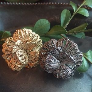 Stella & Dot Rings - Gold and Silver